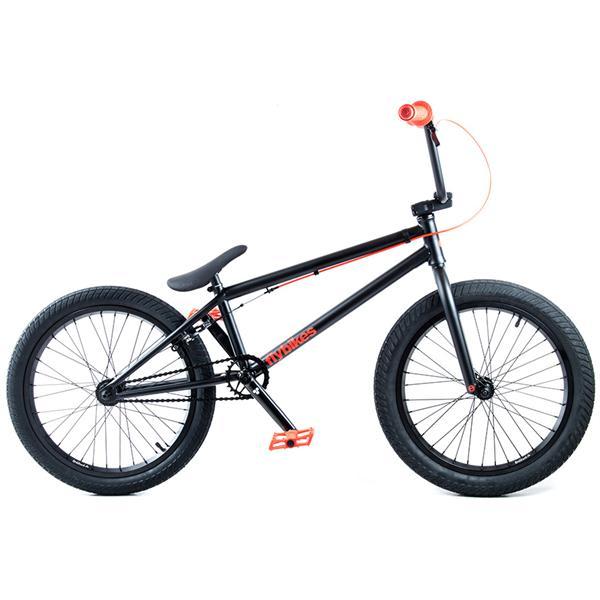 Flybikes Electron Bmx Bike Flat Black 20In U.S.A. & Canada