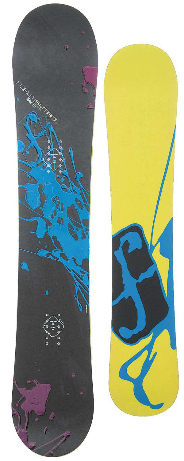 On Sale Forum Symbol Snowboard Up To 80 Off