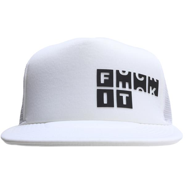 Forum F It Trucker Hat White U.S.A. & Canada
