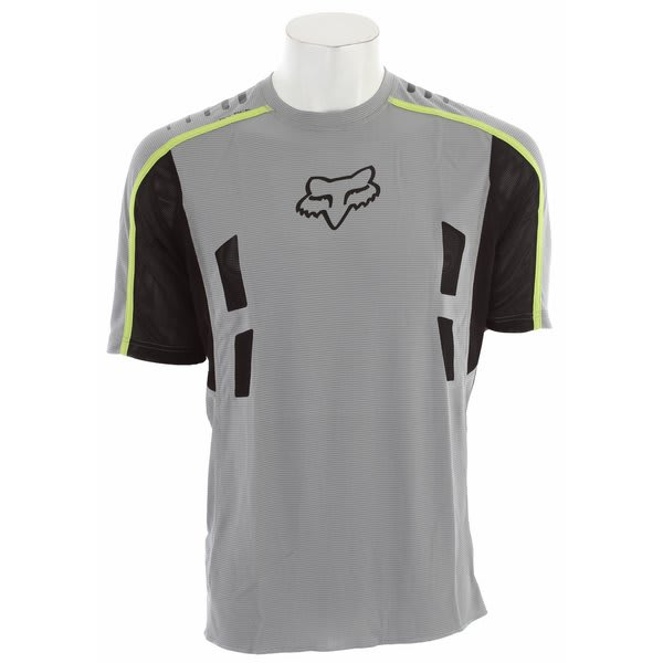 Fox Attack Bike Jersey Grey U.S.A. & Canada