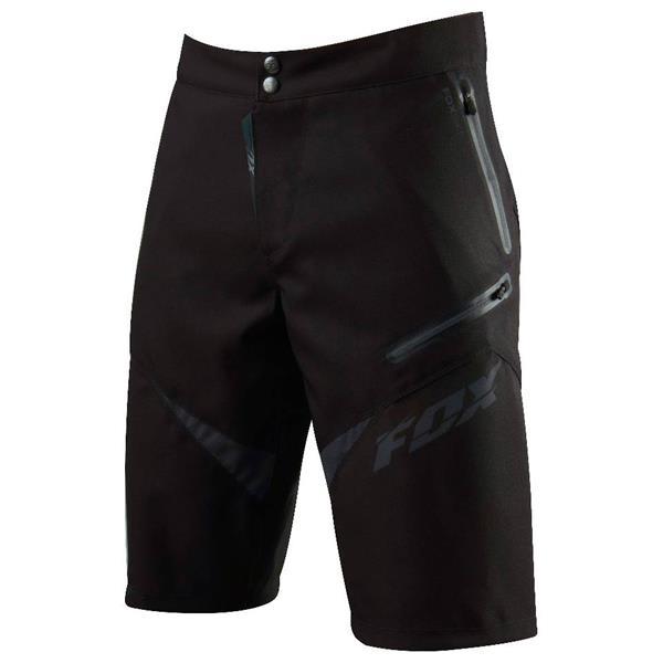 Fox Demo Freeride Shorts Black / Red U.S.A. & Canada