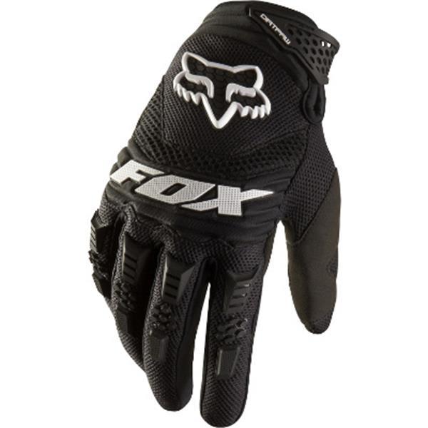 Fox Dirtpaw Bike Gloves Black U.S.A. & Canada