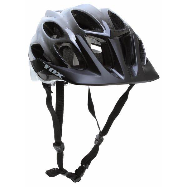 Fox Flux Bike Helmet Black / White U.S.A. & Canada