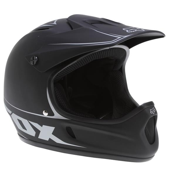 Fox Rampage Bike Helmet Matte Black U.S.A. & Canada