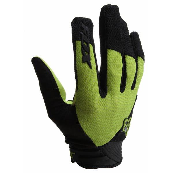 Fox Reflex Gel Bike Gloves Green U.S.A. & Canada