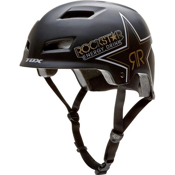 Fox Rockstar Transition Hs Bike Helmet Matte Black U.S.A. & Canada
