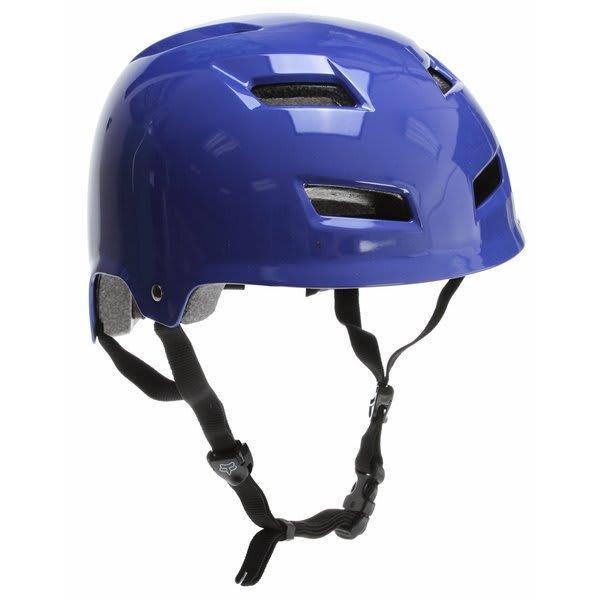 Fox Transition Hard Shell Bike Helmet Blue U.S.A. & Canada
