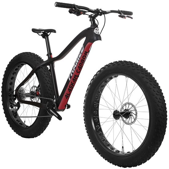 On Sale Framed Alaskan Carbon w/ Carbon Fork Fat Bike up to 50% off ...
