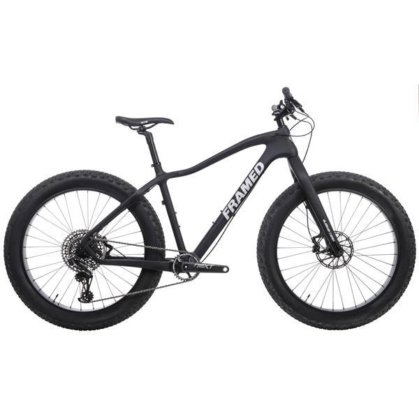 Framed Alaskan Carbon Fat Bike X01 Eagle 1x12 Ltd Fork Wheels