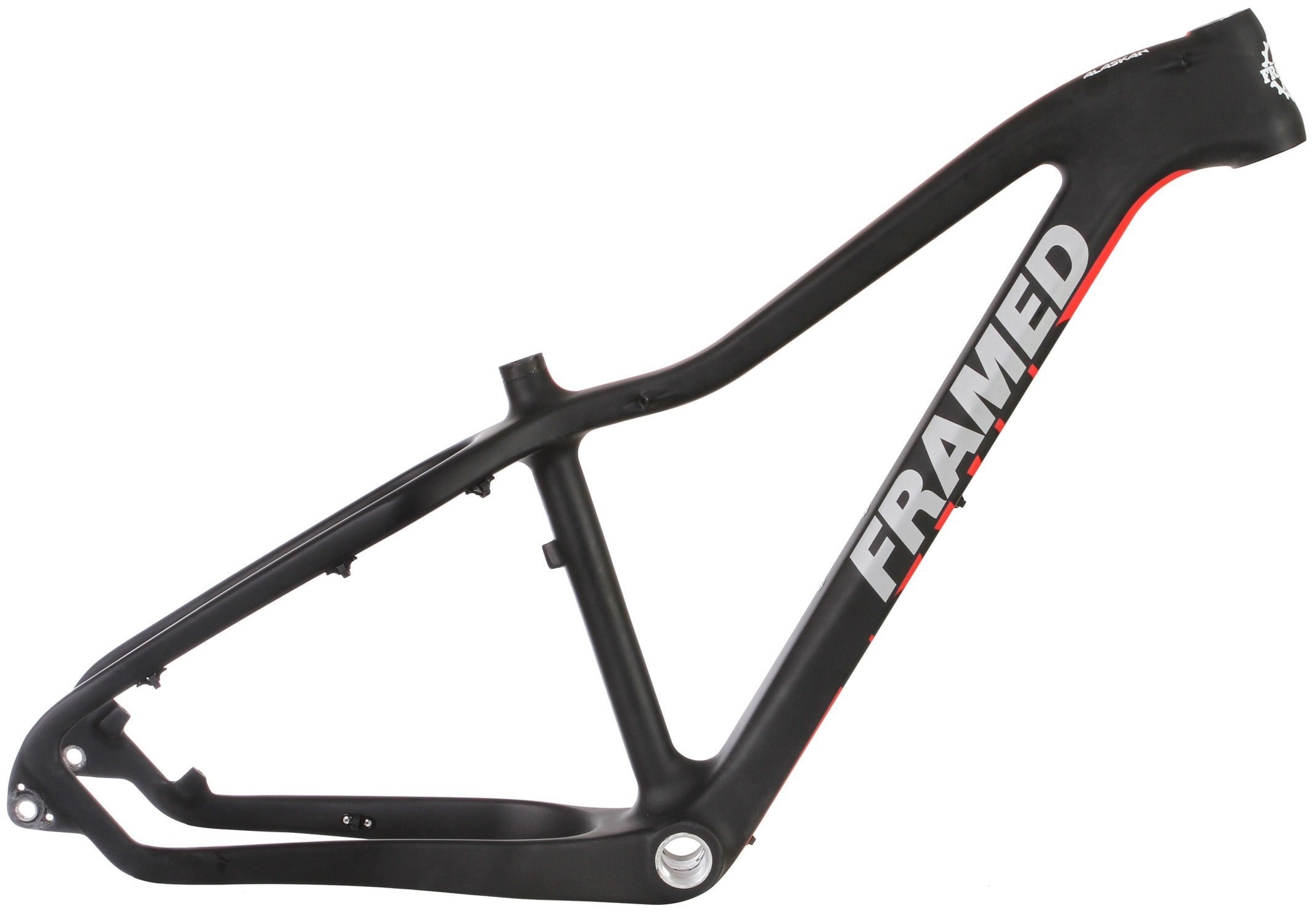Alaskan Carbon Fat Bike Frame