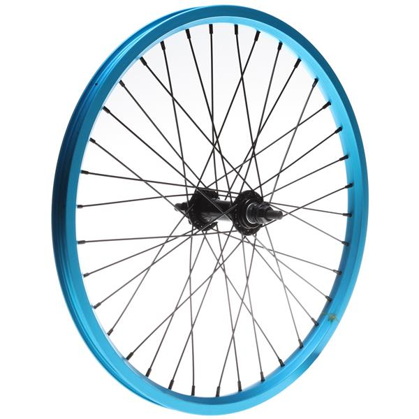 Framed Attack Ltd Front Double Wall Bmx Wheel Blue 3 / 8In U.S.A. & Canada