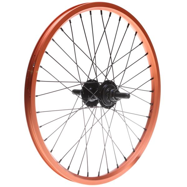 Framed Attack Ltd Rear Double Wall 9T Bmx Wheel Orange 14Mm U.S.A. & Canada