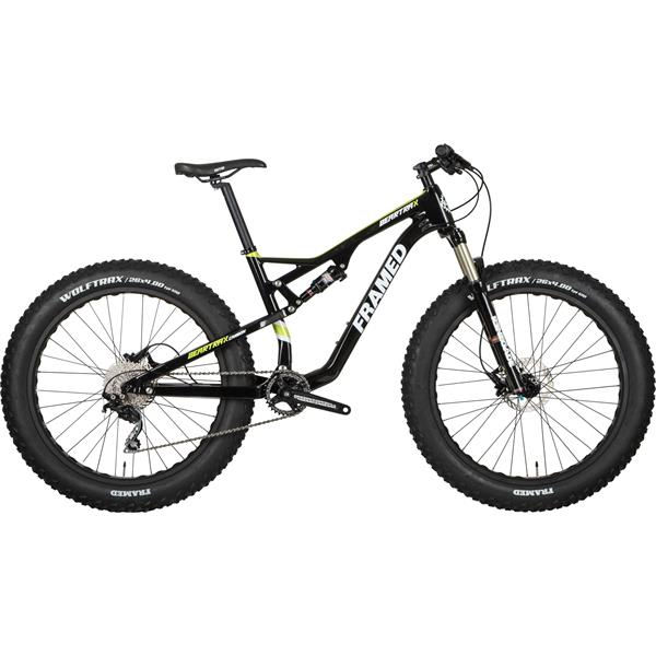 Framed Beartrax Deore 1x10 Full Suspension Fat Bike