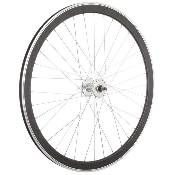 Framed Deep V Front Bike Wheel Black 700C U.S.A. & Canada