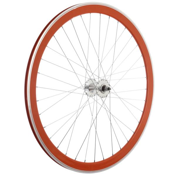 Framed Deep V Front Bike Wheel Orange 700C U.S.A. & Canada