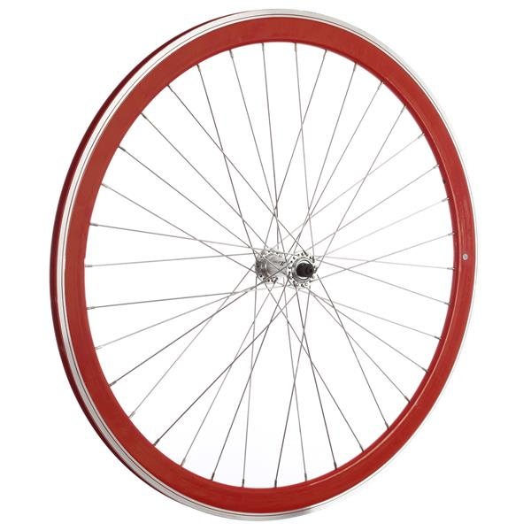 Framed Deep V Front Bike Wheel Red 700C U.S.A. & Canada