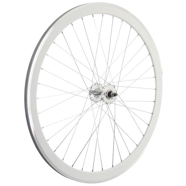 Framed Deep V Front Bike Wheel White 700C U.S.A. & Canada