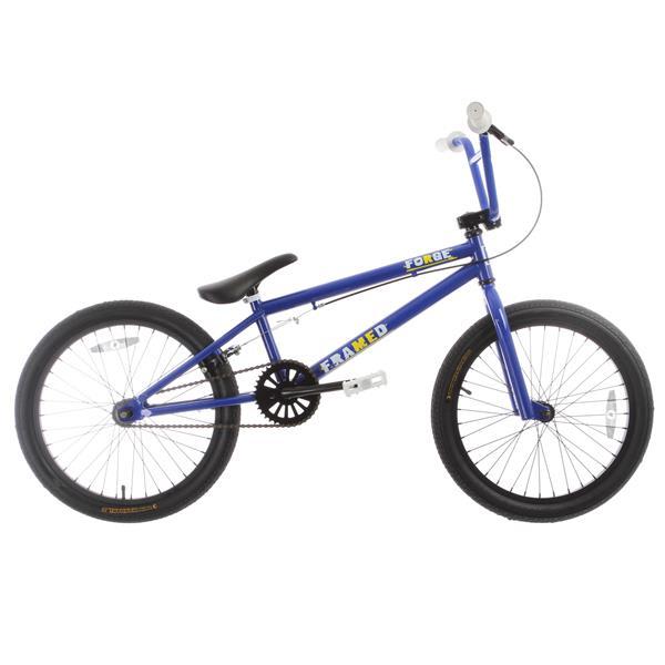 Framed Forge Bmx Bike Blue 20In U.S.A. & Canada