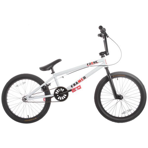 Framed Forge Bmx Bike White 20In U.S.A. & Canada