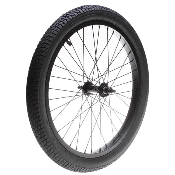 Framed Forge Front Bmx Wheel Black 3 / 8In U.S.A. & Canada