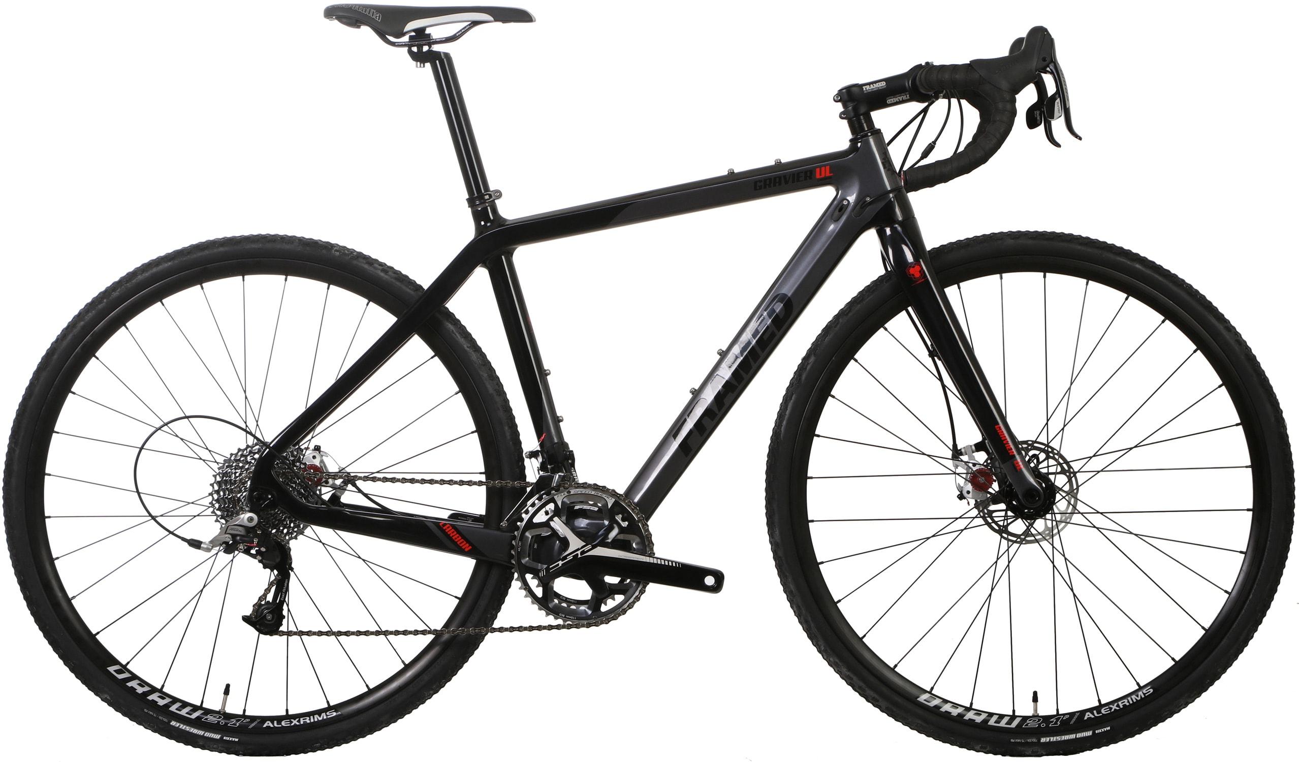 framed gravier carbon gravel road bike rival 22 and. Black Bedroom Furniture Sets. Home Design Ideas