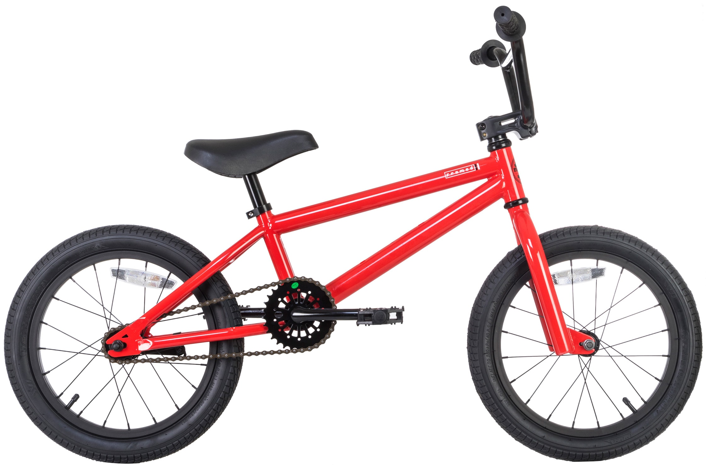 """Birthday Gift Bicycle Kids 16/"""" Motorcycle Pedal Bicycle Boys Motocross Style"""