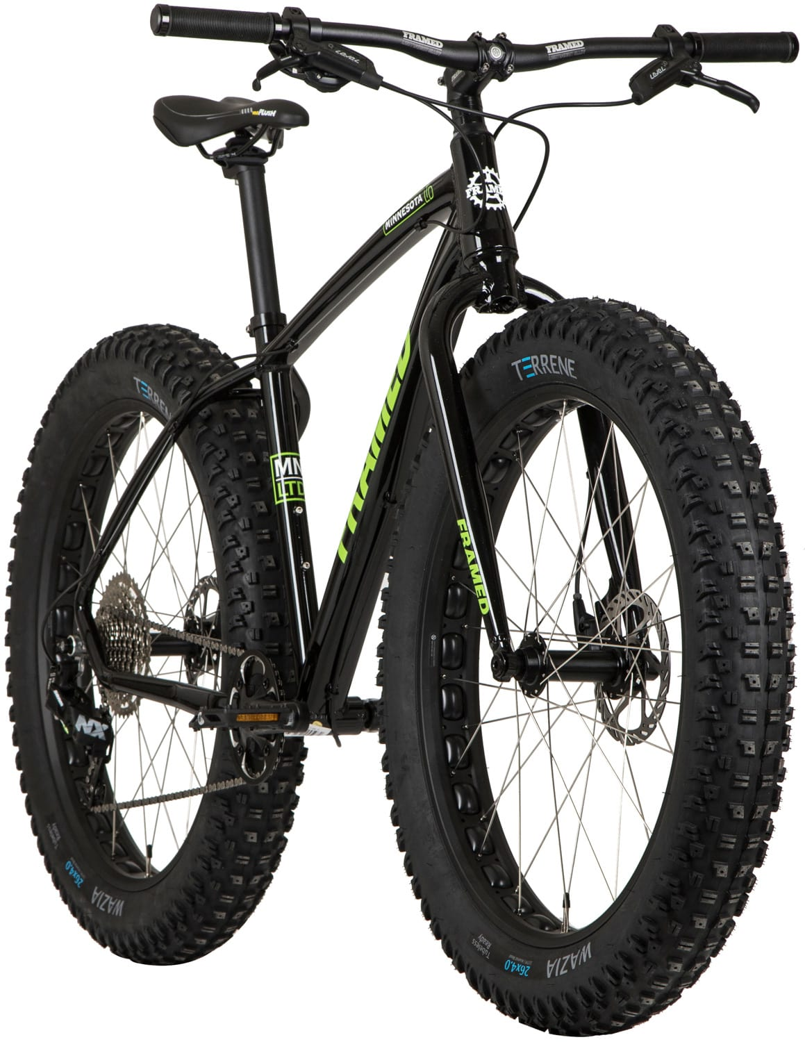 Framed Minnesota LTD Fat Bike Mens Sz 18in | eBay