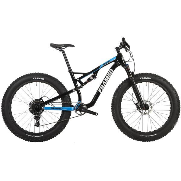 On Sale Framed Montana Carbon Full Suspension Fat Bike Sram X1