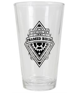 Framed Pint Glass
