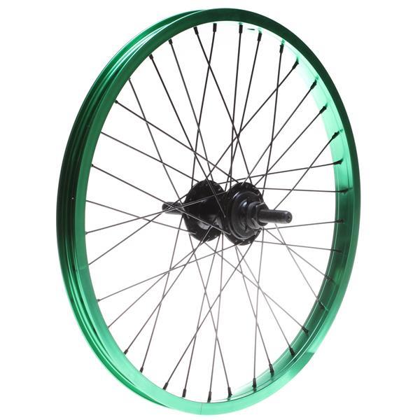 Framed Team Rear 14T Bmx Wheel Green 14Mm U.S.A. & Canada