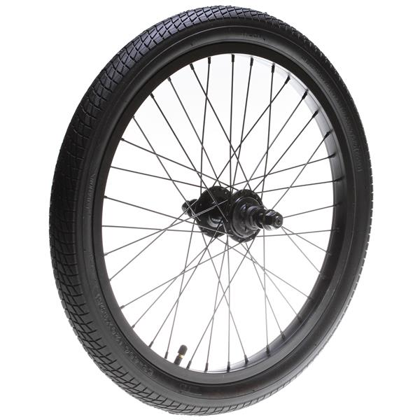 Framed Team Rear Bmx Wheel Black 14Mm U.S.A. & Canada