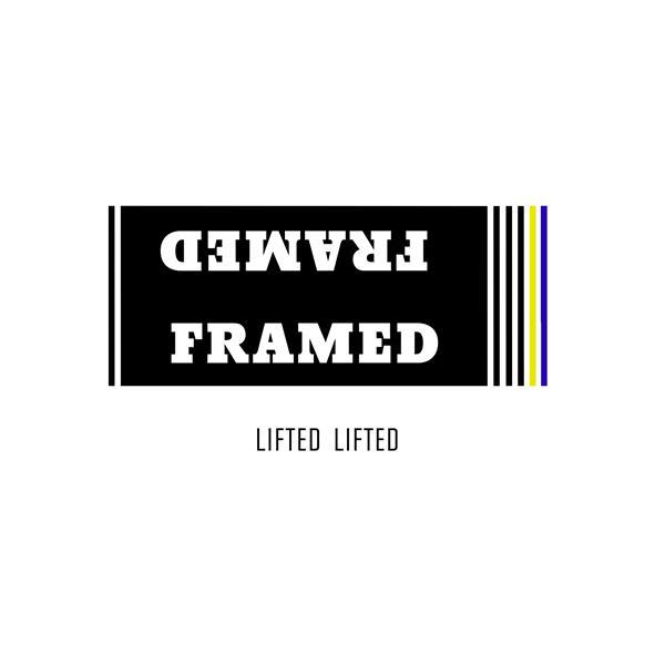 Framed Track Flat Stickers U.S.A. & Canada