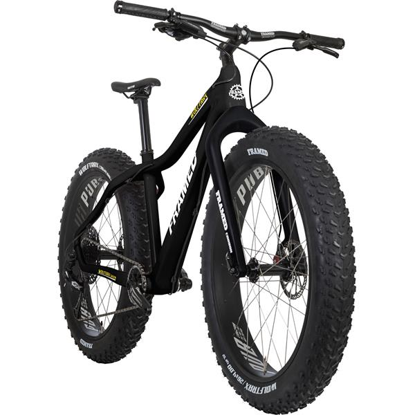 Framed Wolftrax Carbon Gx Eagle 1x12 Ltd Fat Bike W Carbon Fork