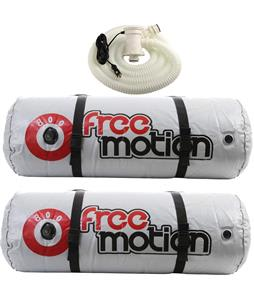 Freemotion Ballast Fat Sac Package 1600lbs + Pump