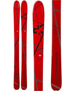 G3 District Carbon Hybrid 100 Skis