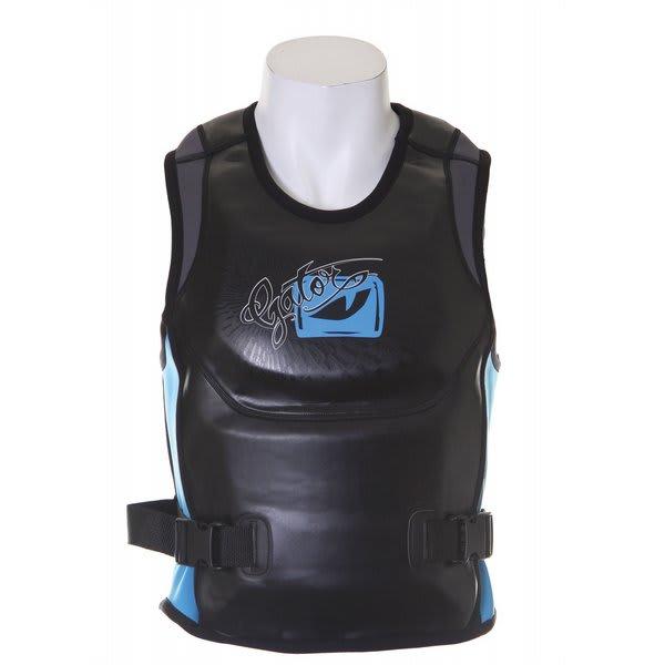Gator Boards Gb The Bandito Pullover Comp Wakeboard Vest Black / Blue U.S.A. & Canada