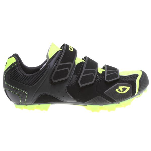 Giro Carbide Bike Shoes Black / Highlight Yellow U.S.A. & Canada
