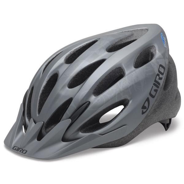 Giro Indicator Bike Helmet Matte Titanium Explosion Adjustable (54 61Cm) U.S.A. & Canada