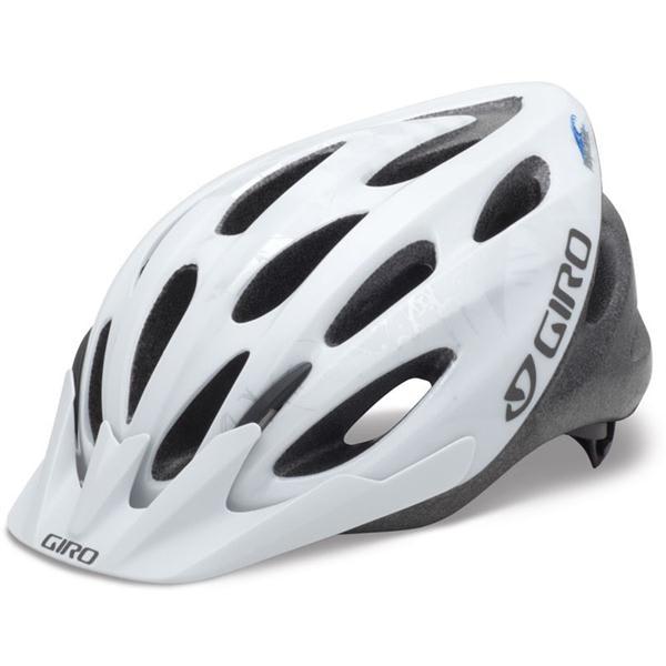 Giro Indicator Bike Helmet White / Silver Explosion Adjustable (54 61Cm) U.S.A. & Canada