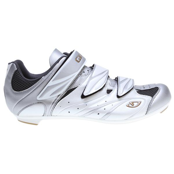 Giro Sante Bike Shoes White / Silver / Gold U.S.A. & Canada