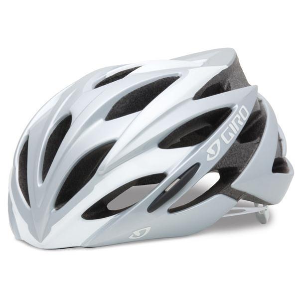Giro Savant Bike Helmet White / Silver U.S.A. & Canada