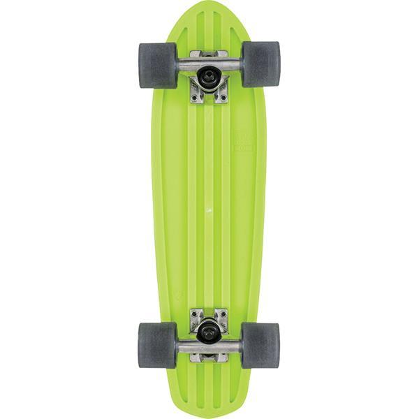 Lime//Raw//Black Globe HG Bantam-Retro Rippers Skateboard 24