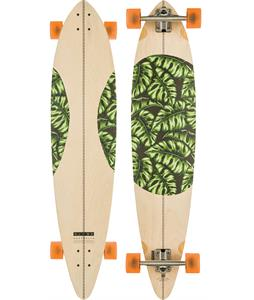 Globe Monstera Pintail Longboard Complete