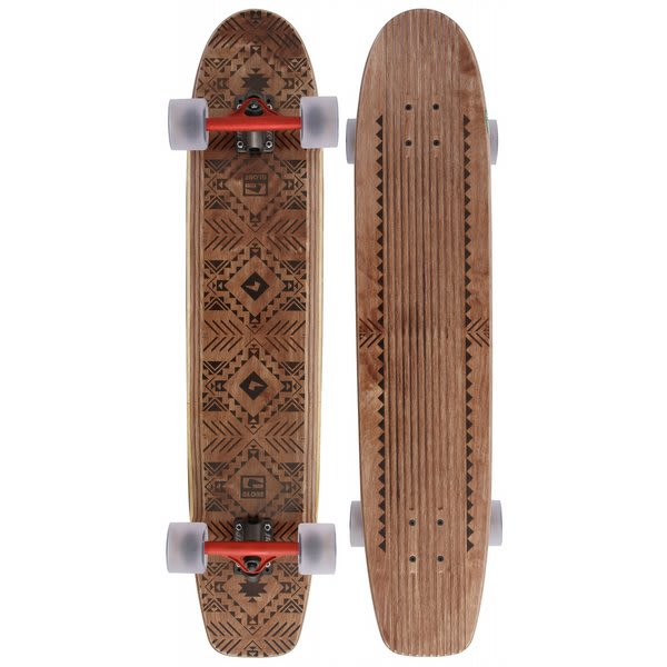 Globe The Plank Longboard Skateboard Brown U.S.A. & Canada