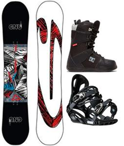 GNU Asym Carbon Credit Blem Snowboard Package