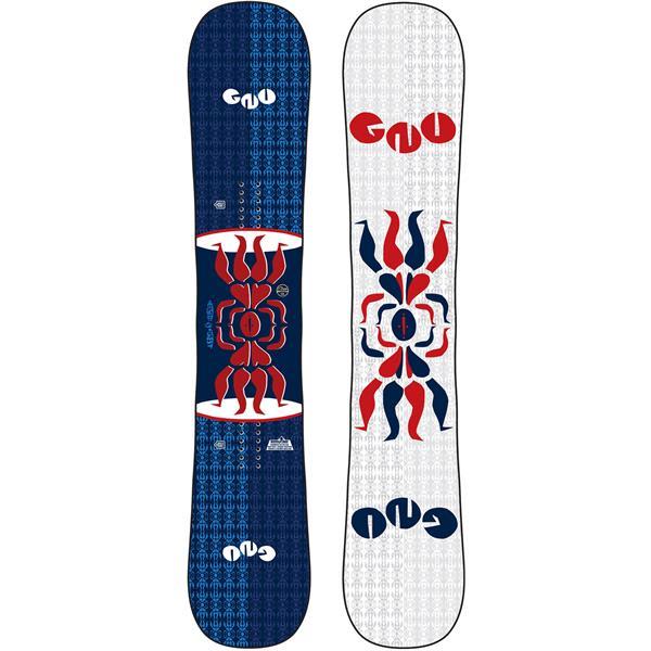 GNU Forest Bailey Head Space Asym Snowboard W/ Union STR