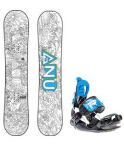 GNU Recess Asym Snowboard w/ Gnunior Bindings