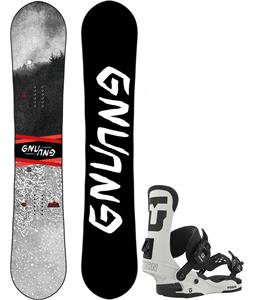GNU T2B Asym Snowboard w/ Union Force Bindings