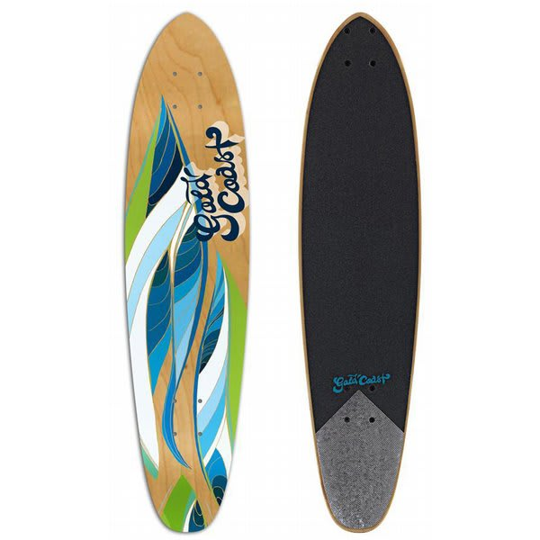Gold Coast rafted Longboard Skateboard U.S.A. & Canada