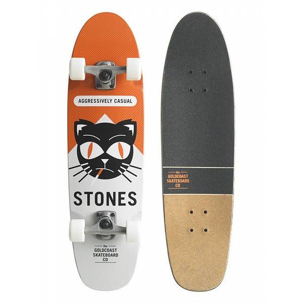 """Gold Coast Softpack Longboard Skateboard Complete 8 5X31 5"""" U.S.A. & Canada"""